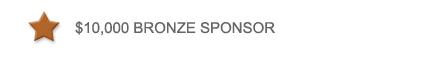 Bronze Sponsor Level