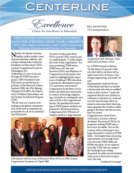 Cover of CEE Spring/Summer 2018 Newsletter